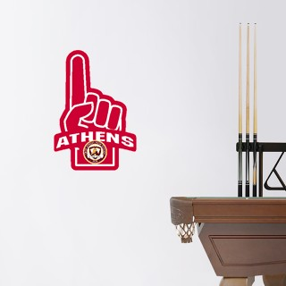 Wall Decal - Foam Finger