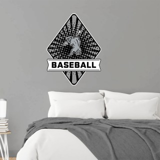Wall Decal - Diamond With Banner