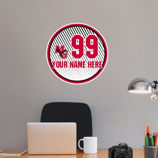 Wall Decal - Ball With Customization