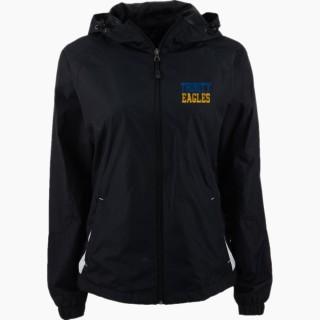 Sport-Tek Women's Colorblock Hooded Jacket