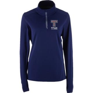 Sport-Tek Women's Textured 1/4 Zip