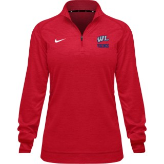 Nike Women's Therma LS Qtr Zip Top