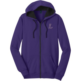District The Concert Fleece Full-Zip Hoodie