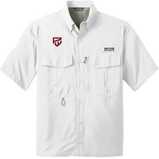 Eddie Bauer Short Sleeve Performance Fishing Shirt