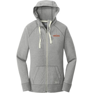 New Era Women's Sueded Cotton Blend Full-Zip Hoodie