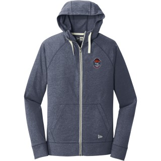 New Era Sueded Cotton Blend Full-Zip Hoodie