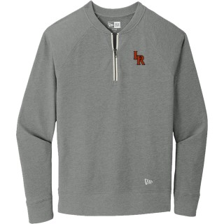 New Era Sueded Cotton Blend 1/4-Zip Pullover