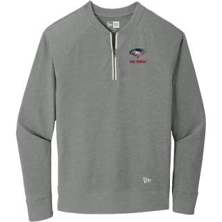 New Era Sueded Cotton Blend 1/4-Zip Pullover
