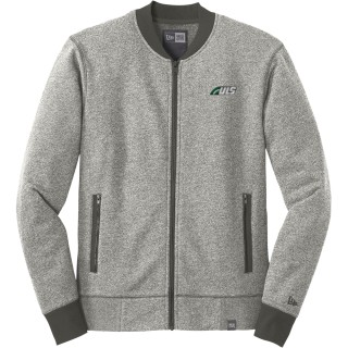 New Era French Terry Baseball Full-Zip