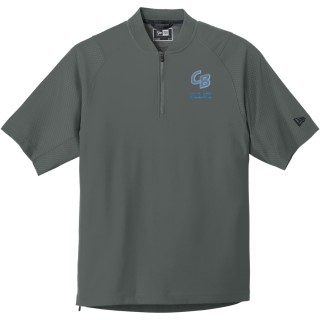 New Era Cage Short Sleeve 1/4-Zip Jacket